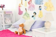 Wall Decals Disney Princess Bedroom Decor DIY Ideas | Fathead Custom Decals | Wall Murals | New Baby / Fathead Wall Decals | Disney Princess DIY Bedroom Decor Ideas | Custom Decals | Wall Murals | If you're looking for the right Princesses gift our Disney Princess collection wall decals are perfect for a new baby room and girls bedroom. Why get a Disney Princess poster when you can get a Disney Princess Fathead wall murals that you stick on any smooth surface. Move them and reuse them – they're safe for walls. SHOP http://www.fathead.com/disney/princesses/ / by Fathead Wall Decals|Custom Decals | Quotes | Wall Murals |  DIY Removable Kids Bedroom Home Decor