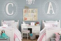 Shared Kids Room Decor / Shared Kids Room Decor | Kids Shared Bedroom Ideas | Space Saving | Do your kids share a room? Shared spaces take a bit of extra planning, but the result can be a room that'll create lasting memories. Give them a little privacy with smart and stylish bedroom decorating ideas.