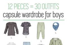 capsule wardrobe FOR BOYS