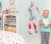 Young Girl Bedroom Ideas For Young Kids + Young Sisters / young girl bedroom, young girl room, young girly bedroom decorating ideas, young girl bedroom decor, disney princess themed room, young girl disney themed room, girly room, young girls shared room, shared bedroom for girls