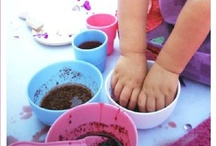 Sensory Play / Messy play is a cornerstone of early learning. And it's FUN!