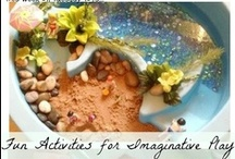Dramatic Play / When children play pretend, they're learning about and exploring their world!