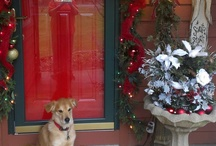 CHRISTMAS & WREATHS AT OUR HOUSE / by Judy Clark