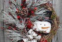 CHRISTMAS WREATHS / by Judy Clark