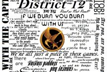 District 12 / Board dedicated to The Hunger Games trilogy