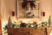 Christmas Mantel / by Judy Clark