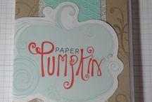 Stampin Up Paper Pumpkin