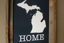 the mitten state / pure michigan / by Autumn