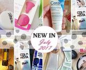 New products / All the new products I get :)