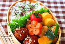 Bento Box ideas & recipes / Bento | Dosirak | Biandang | Baon | Tiffin  The #1 board for all things bento!  Ideas for healthy lunch boxes with an Asian theme  Includes : Kyaraben and Oekakiben