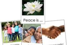 Peace and Silence / Materials and ideas that will help bring Peace and Silence into your Montessori environment. / by Montessori Print Shop