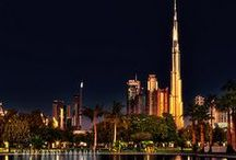 My odd obsession with Dubai / Also includes the surrounding Emirates, a bit of Saudi Arabia as well. :-) / by Alana R