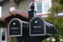 Mailbox / Mailbox, Briefkasten, Postkasten