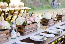 Wedding Ideas / Ideas for wedding favors, decor, and more.