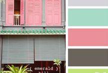 Wedding Color Inspiration / Color inspiration for wedding themes.