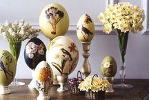 Ostern / Easter / Dekoration, Rezept- und Bastelideen rund um Ostern.