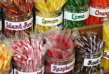 childhood sweet treats. / Old time candy. / by Diana Graves