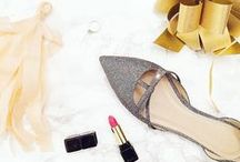 Wedding Dresses & Shoes / Festive shoes and dresses.