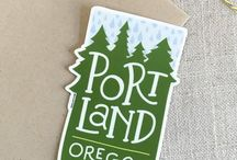 Oregon Out of Town Guest Bags / Oregon wedding inspiration and welcome bags ideas. Oregon inspired welcome bag gifts for out of town guests. Oregon made products to use in wedding welcome bags. Oregon wedding inspiration.