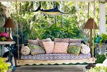 Outdoor Spaces / All things beautiful yard, patio, and outdoor spaces.