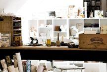 studio. / by strawberry blonde design