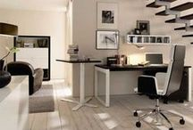 Office / Make a more productive and successful workspace with these office design pins for inspiration and ideas.
