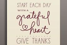 Thanksgiving / Everything to be thankful for!