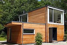 Shipping Container Homes / Alternate living spaces utilizing existing structures with minimal space