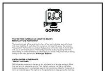 GOPRO*** / GoPro is one of my favorite brands in the world. Their branding focuses way too much on extreme sports, but I get the concept and I use it in my own way. In this board you'll find videos I've made using my GoPro, videos others have made, ads, communication pieces and so forth. / by Michelle Poler