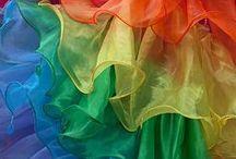 Life's a Rainbow / rainbow objects I love