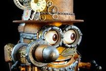 Clockwork Magic / magical images of clockwork, doohickies, and steampunk for my mechanically minded friend Blue