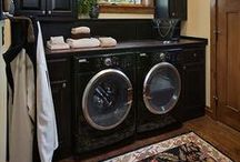 LAUNDRY ROOM / Remodeling, organizing, and decorating advice for our laundry room.