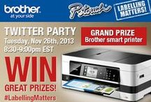 Brother Canada #LabellingMatters Twitter Party / http://twubs.com/LabellingMatters
