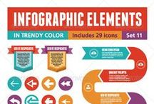 INFOGRAPHICS / Design and organization for infographics. Present your data in a beautiful way!