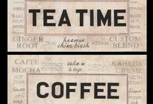 Tea & Coffee Time / For those who enjoy a cup of java or tea.
