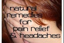 Remedies For Pain Relief / Products for natural pain relief.