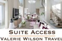 Suite Access / Introducing our exclusive new program, Suite Access™!    Suite Access™ by Valerie Wilson Travel, provides you with special benefits and experiences in the finest suites at the world's most extraordinary hotels and resorts. Browse all of our Suite Access™ properties and exclusive benefits:  www.ValerieWilsonTravel.com/SuiteAccess