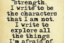 Writing Inspiration / Writing truth bombs, inspiration, and quotes for those days the words just won't come.