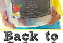 Back to School Resources / Back to school ideas and tips, quick recipes, snack ideas, etc.