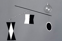 Mobiles / Mobiles encourage the development of the visual sense.