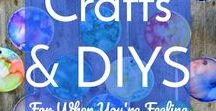 Crafts & DIY's for When you're Feeling Creative / Bring out your inner artist with simple and beautiful crafts & DIY's!