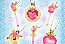 Sailor Moon Accessories / Collection of all the new official Sailor Moon accessories! Will be updated with all new merchandise as it's released! For shopping links, check out this page on my Sailor Moon site here http://www.moonkitty.net/reviews-buy-sailor-moon-accessories.php