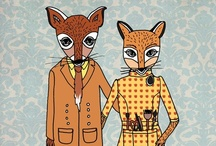 Foxes...For Cyrus / by Joel Ellis
