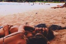 BEACH BUM. / by charis dulcie