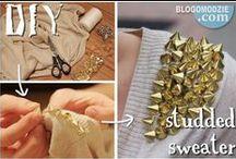 DIY fashion / Fashionable DIY ideas