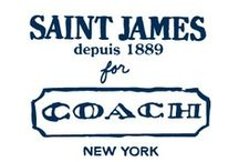 Saint James for Coach / When iconic French fashion meets modern American style, a cross-continental love affair is born. Introducing the Saint James for Coach Collection, now available at Coach.com. / by Coach, Inc.