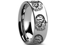 Nerdy Engraved Rings / Unique and interesting rings offering many themed engravings from Star Wars to League of Legends!