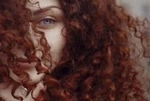 for-redheads - curly hair / by max