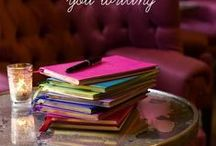 """Journaling / Everything journaling -- writing, art, creative, smash, gratitude and more! Socrates would approve: """"An unexamined life is not worth living"""""""
