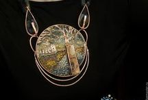 Mixed media & assemblage jewellery